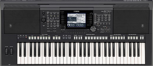 Yamaha portable keyboard - PSR-S750
