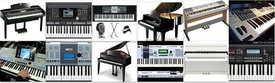 Yamaha Keyboards & Pianos