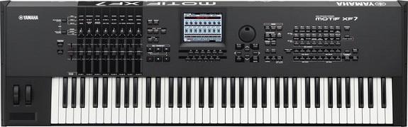 76 key Yamaha Motif XF7 keyboard