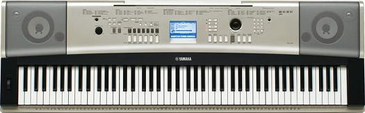 Yamaha ypg 535 review yamaha dgx530 review for Yamaha ypg 535 weighted keys