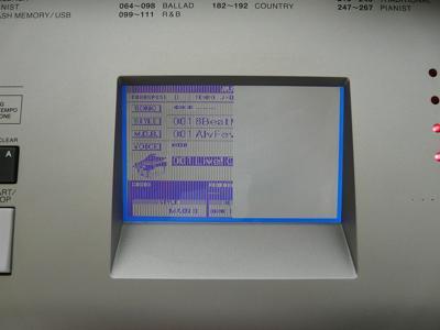 Yamaha YPG Display Problem Far